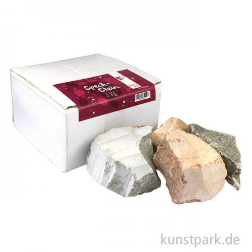 Speckstein Rohsteine in verschiedenen Farben 5 kg