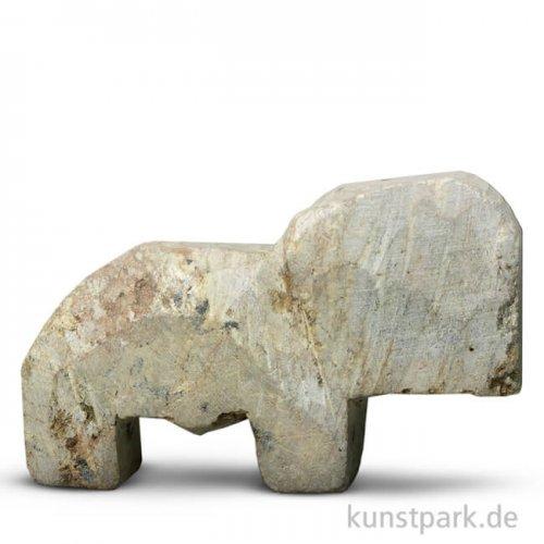 Speckstein Rohling - Elefant