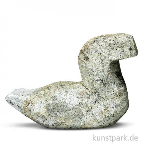 Speckstein Rohling - Ente