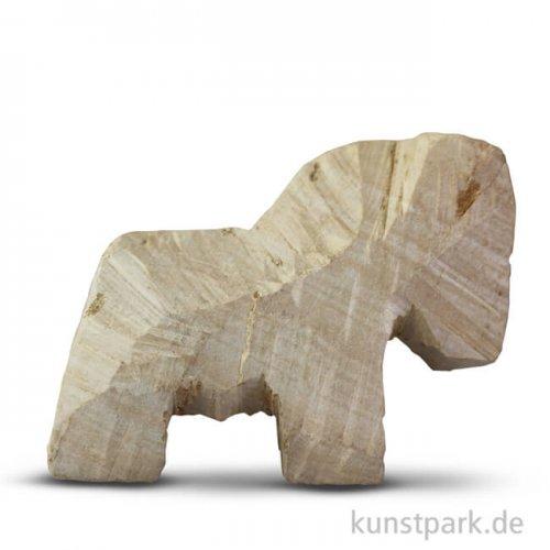 Speckstein Rohling - Pferd