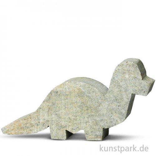 Speckstein Rohling - Brontosaurus