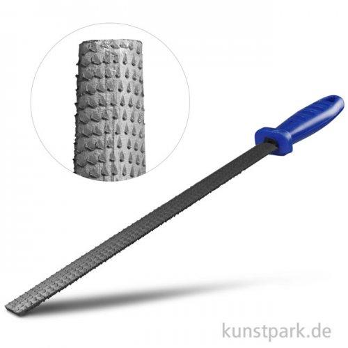 Specksteinraspel - Halbrund mit Kunststoffgriff, 25 cm