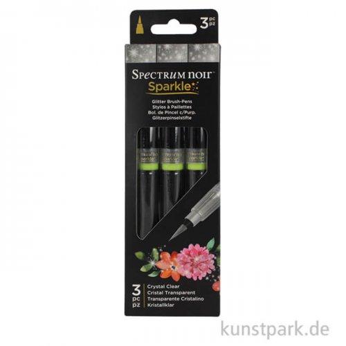 Spectrum Noir Sparkle - Clear Overlay, 3 Stifte im Kartonetui