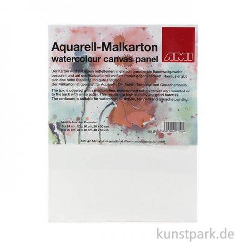 Aquarell - Malkarton, mittelfein, spezialgrundiert 30 x 40 cm