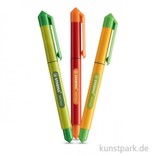 STABILO beCrazy Tintenroller Duocolors