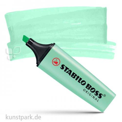 STABILO BOSS Original Pastel Textmarker Einzelstift   Hauch von Minze