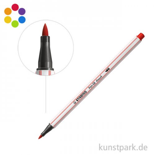 STABILO Pen 68 brush Einzelfarben