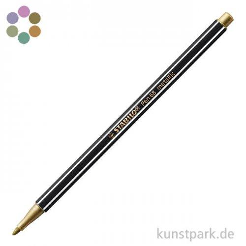 STABILO Pen 68 Filzstift - Metallic