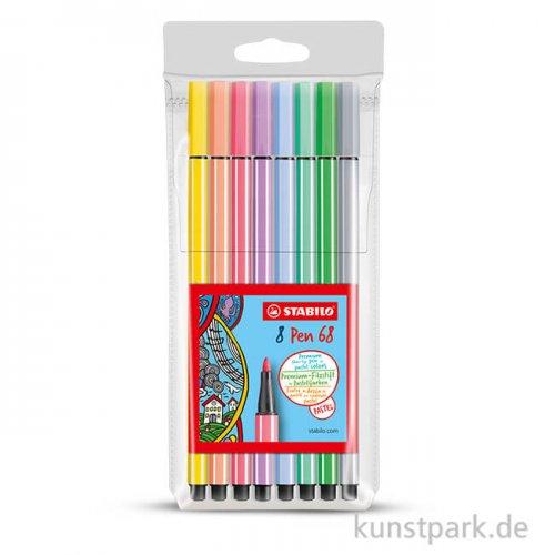 STABILO Pen 68 pastel 8er Etui