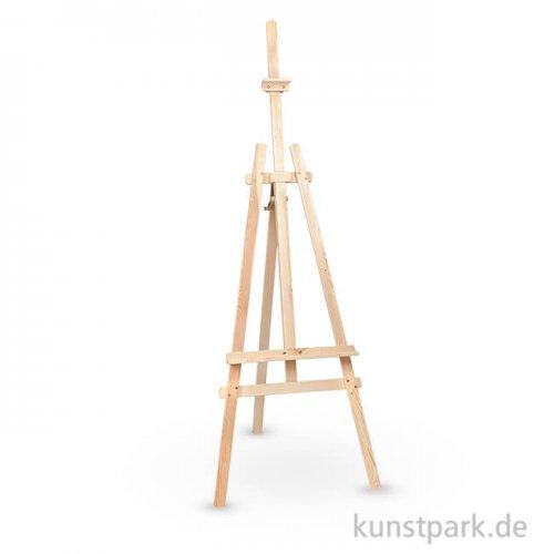 Staffelei RÜGEN aus Fichtenholz natur, Bildauflage, Bildhalter