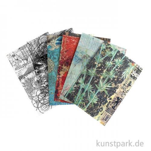 Stamperia Clear Prints - Sir Vagabond in Japan, 6 Stück, DIN A4