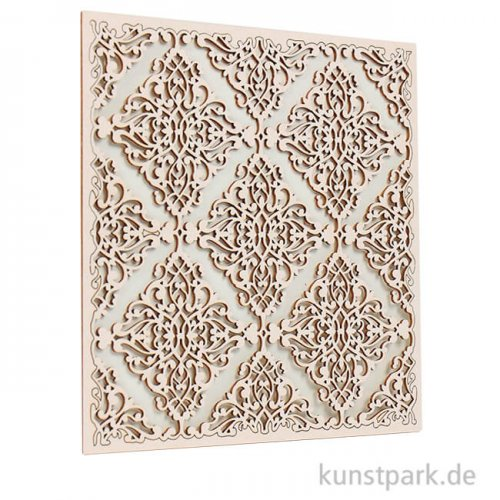 Stamperia Decorativ Chips - Sleeping Beauty Texture, 14 x 14 cm