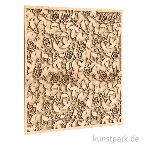 Stamperia Decorativ Chips - Winter Tales Ramage, 14 x 14 cm