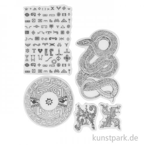 Stamperia Natural Rubber Stamp - Amazonia Snake