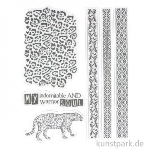 Stamperia Natural Rubber Stamp - Amazonia Tribals