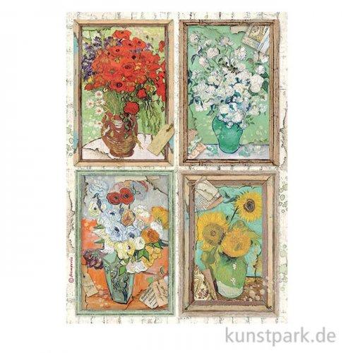 Stamperia Reispapier - Atelier des Arts, Van Gogh, DIN A4