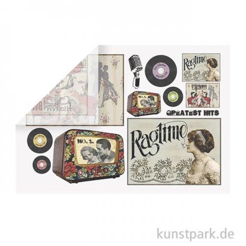 Stamperia Reispapier - Music, 48 x 33 cm, Einzelblatt