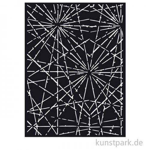 Stamperia Schablone - Sir Vagabond Cracks, 15 x 20 cm