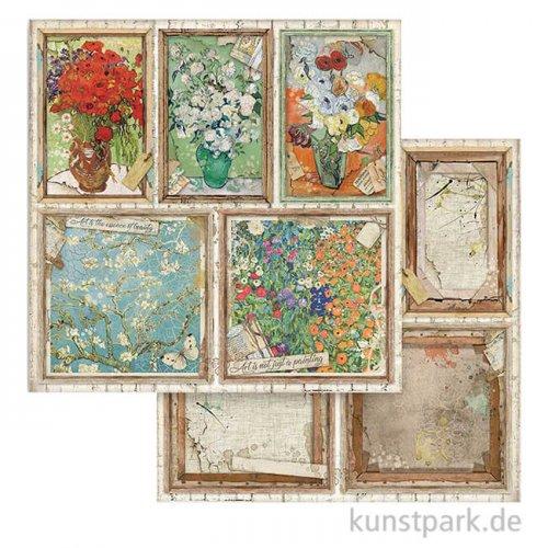 Stamperia Scrappapier - Atelier des Arts, Cards, 30,5x30,5 cm