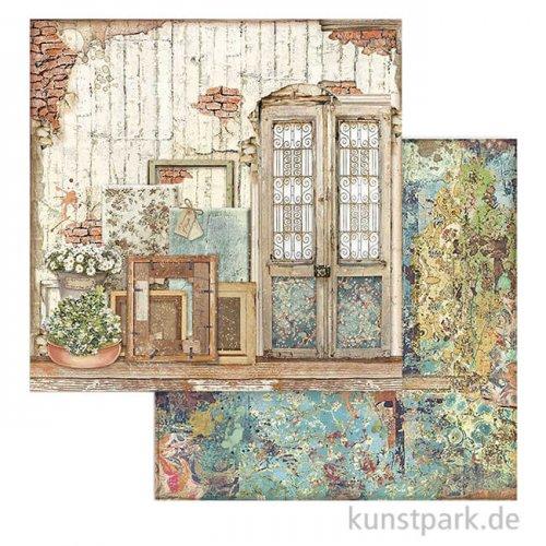 Stamperia Scrappapier - Atelier des Arts, Door, 30,5x30,5 cm