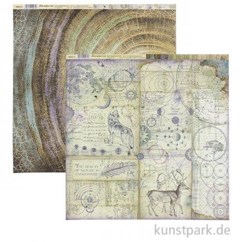 Stamperia Scrappapier - Cosmos Knots, 30,5 x 30,5 cm