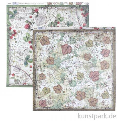 Stamperia Scrappapier - Forest Undergrowth, 30,5 x 30,5 cm