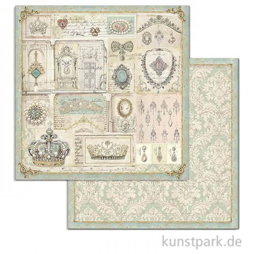 Stamperia Scrappapier - Princess Jewellery, 30,5 x 30,5 cm