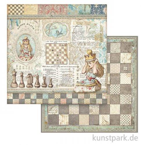 Stamperia Scrappapier - Queen Alice, 30,5x30,5 cm