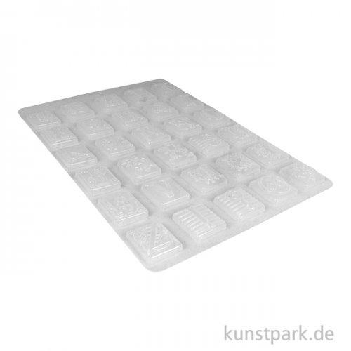 Stamperia Soft Mould (Gießform) - Calligraphy Alphabet, DIN A4