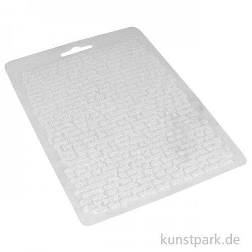 Stamperia weiche Giessform - Calligraphy Journal, DIN A5