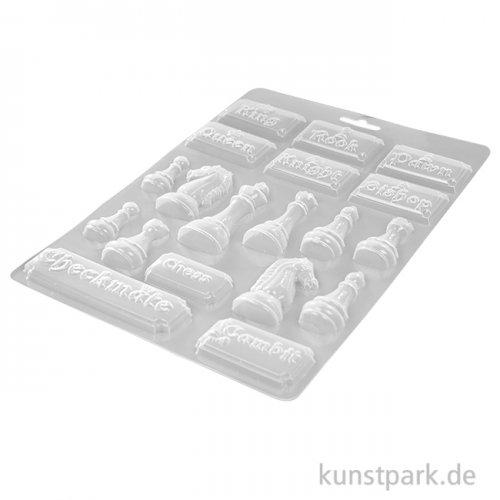 Stamperia Soft Mould (Gießform) - Alice Chessboard, DIN A4