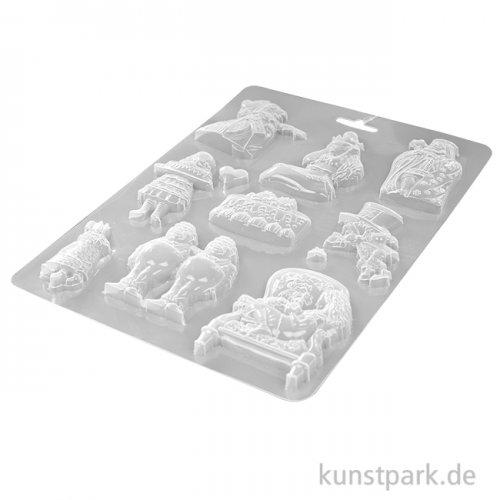 Stamperia Soft Mould (Gießform) - Alice King, DIN A4