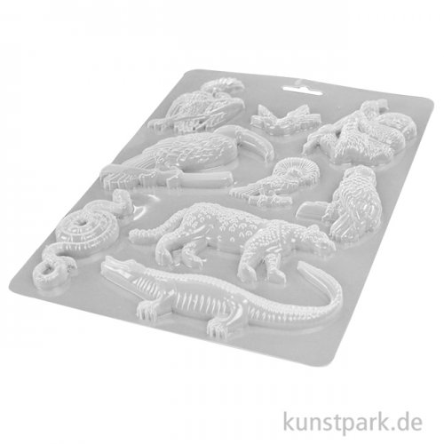 Stamperia Soft Mould (Gießform) - Amazonia Animals, DIN A5