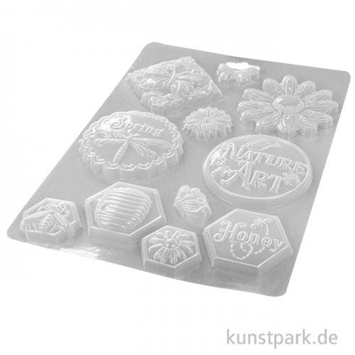 Stamperia Soft Mould (Gießform) - Atelier Nature is Art, DIN A4