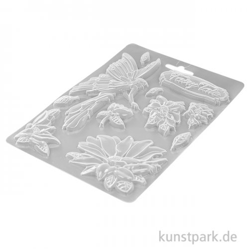 Stamperia Soft Mould (Gießform) - Sleeping Beauty Fairy Tale, DIN A5