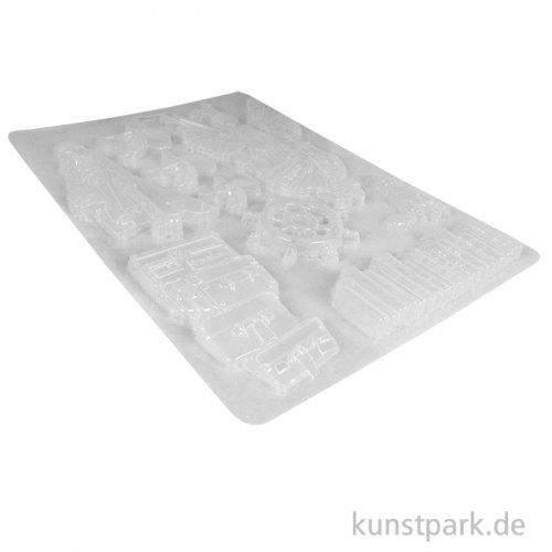 Stamperia Soft Mould (Gießform) - Lady Vagabond, DIN A4