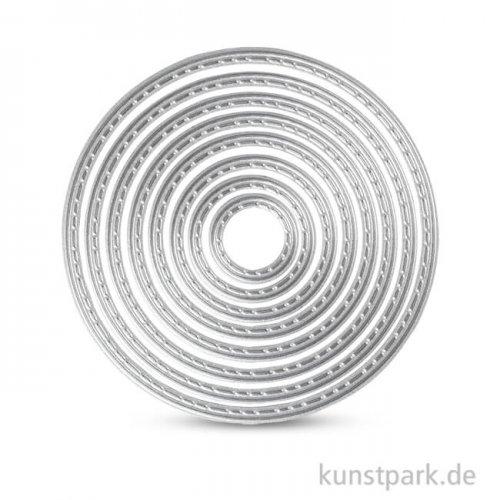 Stanzform - Kreise, Durchmesser 1,5-7,5 cm