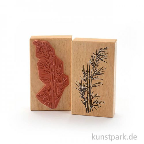 Stempel - Bambus im Wind - 7x12 cm