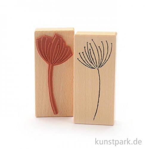 Stempel - Blütenzweig - 6x13 cm