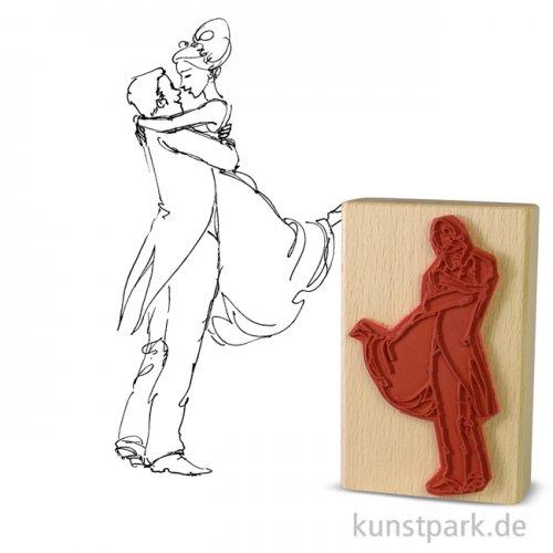 Stempel - Bräutigam hebt die Braut - 7x11 cm