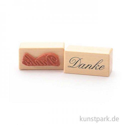 Stempel - Danke - 3x6 cm