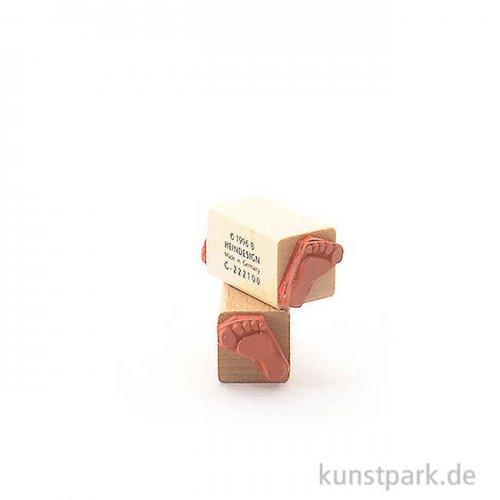 Stempel - Feet Set - 2x2 cm