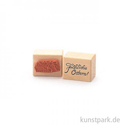 Stempel - Fröhliche Ostern - 3x4 cm