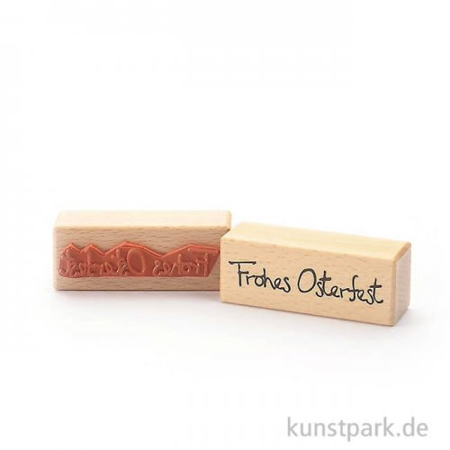 Stempel - Frohes Osterfest - 3x8 cm