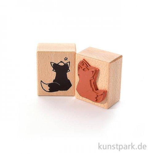 Stempel - Fuchs und Stern, 4 x 5 cm