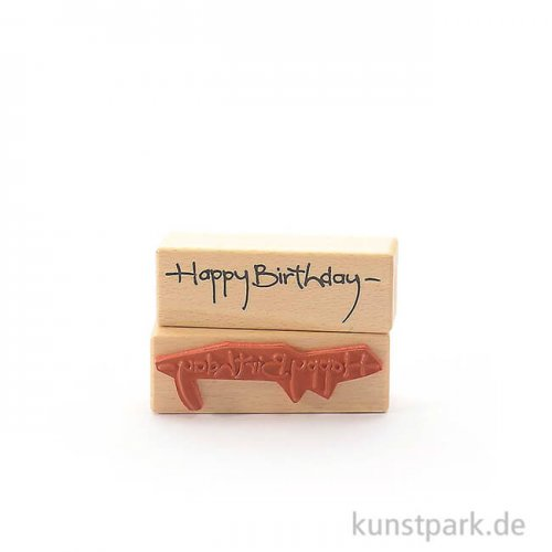 Stempel - Gereon Happy Birthday - 3x9 cm