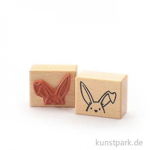 Stempel - Guck mal - Häschen - 4x5 cm