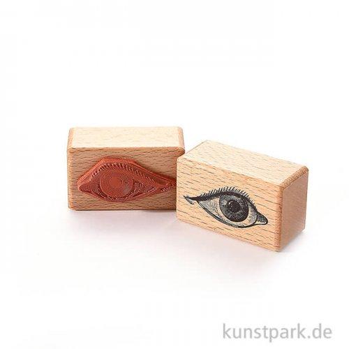 Stempel - Hab ein Auge drauf, 3 x 5 cm