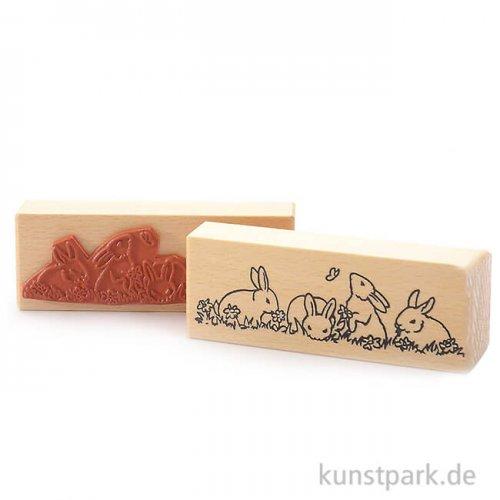 Stempel - Hasenbande - 5x14 cm