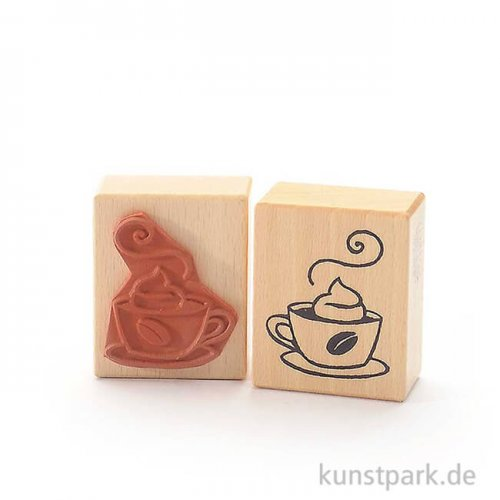 Stempel - Kaffeeklatsch mit Sahne - 5x6 cm